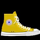 Converse, Yellow Icon