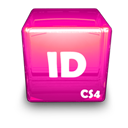 Adobe, Cs, Id Icon