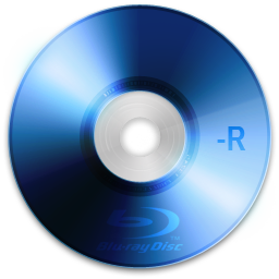 Bluray, r Icon