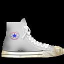 Converse, Dirty, White Icon