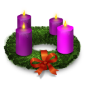 Advent, Wreath Icon