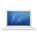 Macbook, White Icon