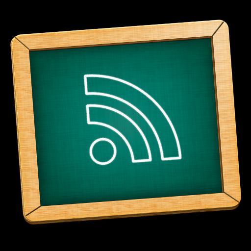 Blackboard, Feed, Green, Icon Icon