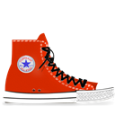 Converse, Red, Tasi Icon