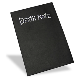 =d, Death, Note Icon