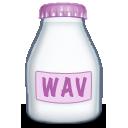 Fyle, Type, Wav Icon