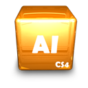 Adobe, Ai, Cs Icon