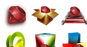 Ruby Programming Icons