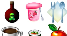 Food Library Icons