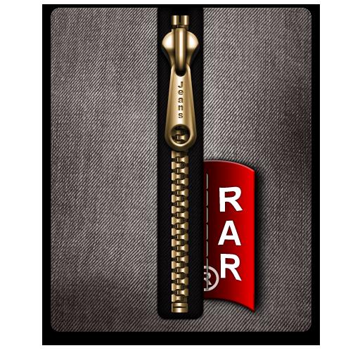 Black, Gold, Rar Icon