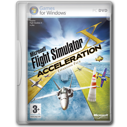Acceleration, Flight, Simulator Icon