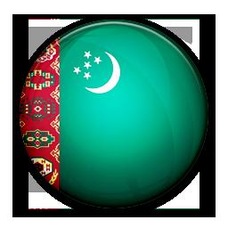 Flag, Of, Turkmenistan Icon