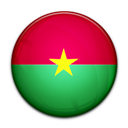 Burkina, Faso, Flag, Of Icon