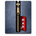 Blue, Gold, Rar Icon