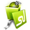 Gift, Stumbleupon Icon