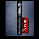 Blue, Bz, Silver Icon