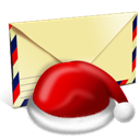 Letter, Santa Icon