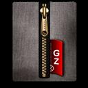 Black, Gold, Gz Icon