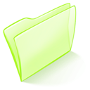 Dossier, Green, Normal Icon