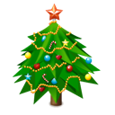 New, Tree, Year Icon