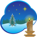 Christmas, Picture Icon