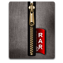 Black, Gold, Rar Icon