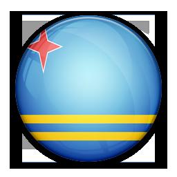Aruba, Flag, Of Icon
