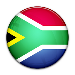 Africa, Flag, Of, South Icon