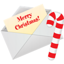 Christmas, Letter Icon