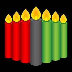 Candles, Kwanzaa Icon
