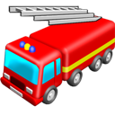 Engine, Fire Icon
