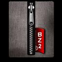 Black, Bz, Silver Icon