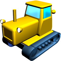 Catterpillar, Tractor Icon