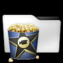 Movies, Popcorn Icon