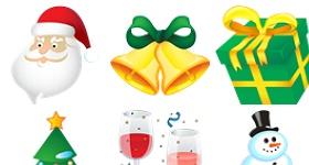 Standard Christmas Icons