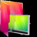 Aurora, Desktop, Folders, Icontexto Icon