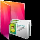 Aurora, Contacts, Folders, Icontexto Icon