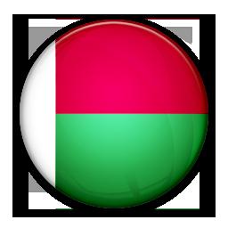 Flag, Madagascar, Of Icon
