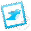 Stamp, Twitter Icon
