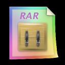 Files, Rar Icon