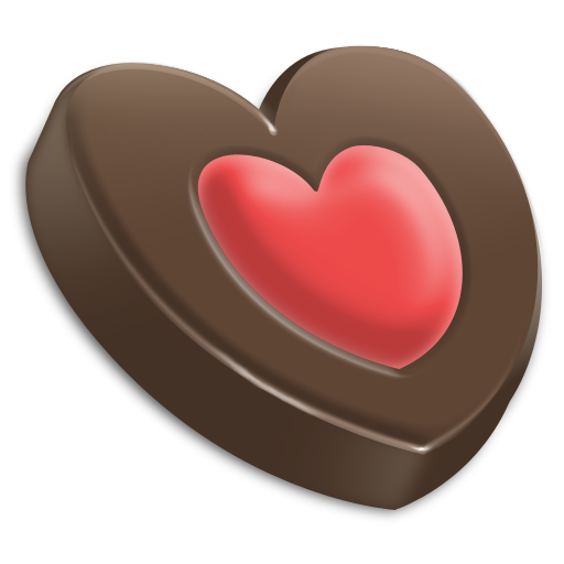 Chocolate, Heart Icon