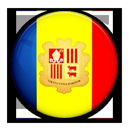 Andorra, Flag, Of Icon