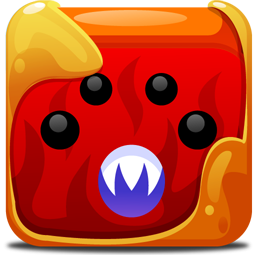 Block, Red Icon