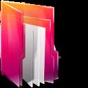 Aurora, Folders, Icontexto Icon
