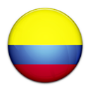 Colombia, Flag, Of Icon