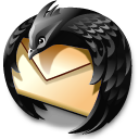 Black, Thunderbird Icon