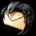 Black, Thunderbird Icon