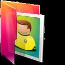 Aurora, Folders, Icontexto, Pictures Icon