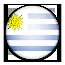 Flag, Of, Uruguay Icon