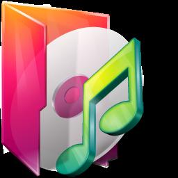 Aurora, Folders, Icontexto, Music Icon